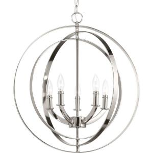 Equinox - Five Light Sphere Chandelier