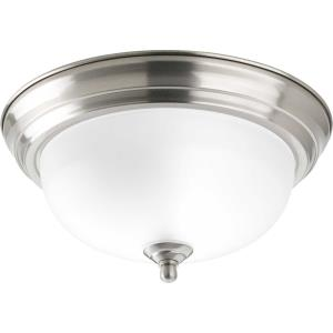 Dome Glass CTC - 5.5 Inch Height - Close-to-Ceiling Light - 1 Light - Bowl Shade - Line Voltage - Damp Rated