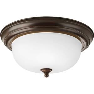Two Light Semi-Flush Mount