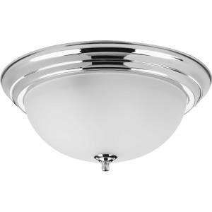 Dome - Three Light Flush Mount