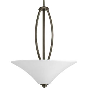 Joy - 3 Light in Transitional and Traditional style - 19.5 Inches wide by 24.75 Inches high