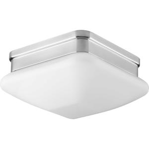 Appeal - 3.5 Inch Height - Close-to-Ceiling Light - 1 Light - Square Shade - Line Voltage - Damp Rated