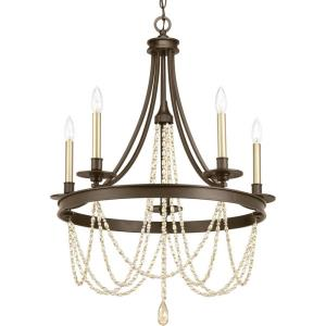 Allaire - Chandeliers Light - 5 Light in Luxe and New Traditional and Transitional style - 26 Inches wide by 30.75 Inches high