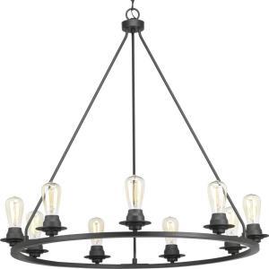 Debut - 34.5 Inch Height - Chandeliers Light - 9 Light - Line Voltage