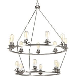 Debut - Chandeliers Light - 15 Light in Farmhouse style - 36 Inches wide by 41.63 Inches high
