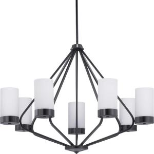 Elevate - Chandeliers Light - 7 Light in Mid-Century Modern style - 32.63 Inches wide by 22.88 Inches high