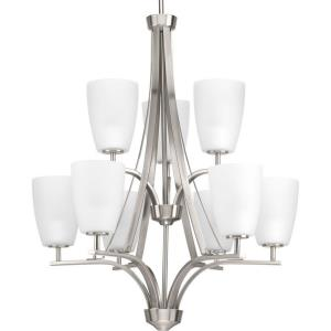 Leap - 9 Light in Modern style - 26.38 Inches wide by 37 Inches high