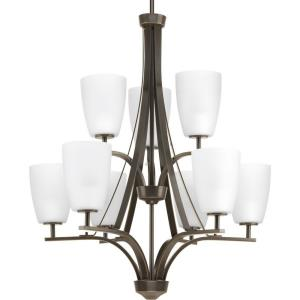 Leap - Nine Light 2-Tier Chandelier