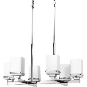 Metric - Six Light Chandelier