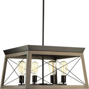 Briarwood - 12 Inch Height - Chandeliers Light - 4 Light - Line Voltage