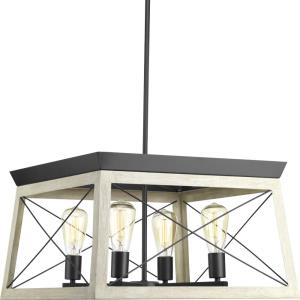Briarwood - Chandeliers Light - 4 Light in Coastal style - 20 Inches wide by 12 Inches high