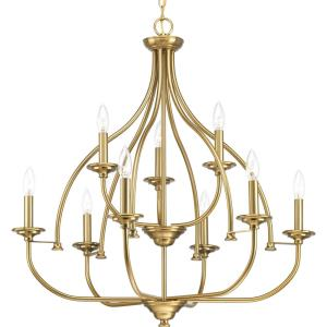 Tinsley - Chandeliers Light - 9 Light in New Traditional and Transitional style - 29.25 Inches wide by 31 Inches high