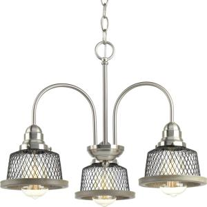 Tilley - Chandeliers Light - 3 Light in Coastal style - 20 Inches wide by 14.75 Inches high