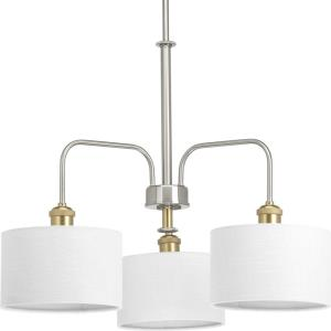 Cordin - Chandeliers Light - 3 Light in Farmhouse style - 25 Inches wide by 19 Inches high