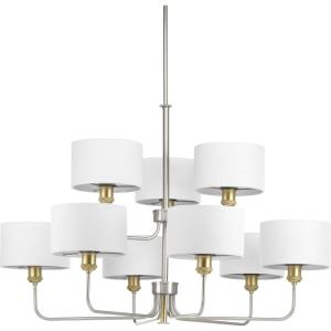Cordin - Chandeliers Light - 9 Light in Farmhouse style - 38 Inches wide by 26 Inches high