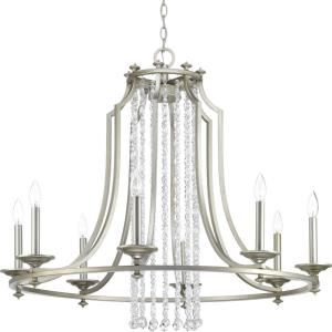 Desiree - Chandeliers Light - 8 Light in Luxe and New Traditional and Transitional style - 36 Inches wide by 30.75 Inches high