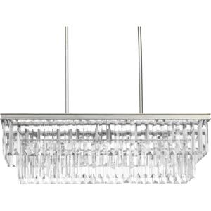 Glimmer - Chandeliers Light - 4 Light in Luxe and New Traditional and Transitional style - 33.88 Inches wide by 11 Inches high