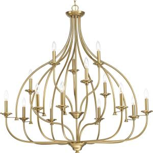 Tinsley - Chandeliers Light - 15 Light in New Traditional and Transitional style - 42 Inches wide by 41.75 Inches high