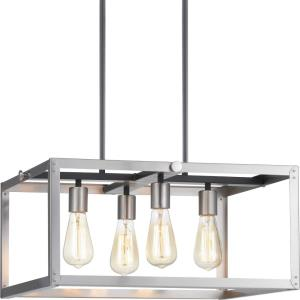 Union Square - Chandeliers Light - 4 Light in Coastal style - 20 Inches wide by 9.75 Inches high