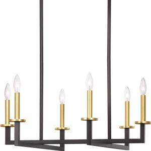Blakely - Chandeliers Light - 6 Light in Modern style - 28 Inches wide by 15.63 Inches high