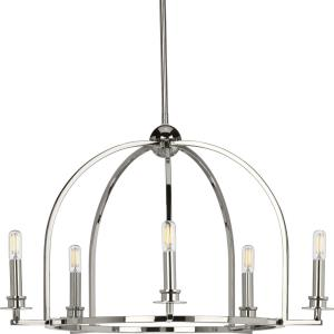 Seneca - Chandeliers Light - 5 Light in Farmhouse style - 25.5 Inches wide by 15.88 Inches high