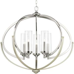 Evoke - Five Light Chandelier