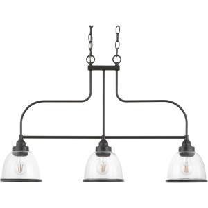 Saluda - Three Light Chandelier