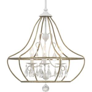 Fleurette - Chandeliers Light - 3 Light in Farmhouse style - 21.88 Inches wide by 23.25 Inches high