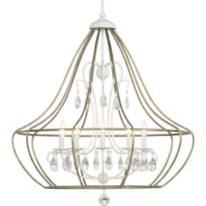 Fleurette - Chandeliers Light - 5 Light in Farmhouse style - 32.13 Inches wide by 33.63 Inches high