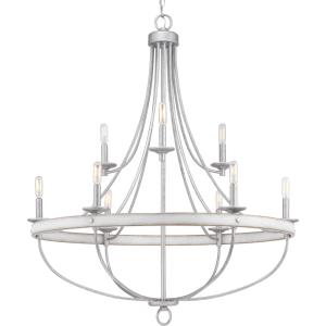 Gulliver - Nine Light 2-Tier Chandelier