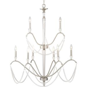 Stratham - Chandeliers Light - 9 Light in Luxe and Modern style - 35.13 Inches wide by 42 Inches high