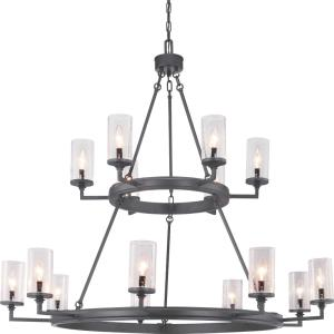 Gresham - Chandeliers Light - 15 Light in Farmhouse style - 47.13 Inches wide by 40.38 Inches high