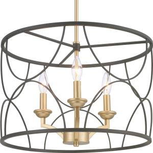 Landree - Chandeliers Light - 3 Light in Luxe and New Traditional style - 18.13 Inches wide by 12 Inches high