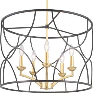 Landree - Five Light Chandelier