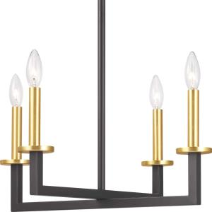 Blakely - Chandeliers Light - 4 Light in Modern style - 20 Inches wide by 15.63 Inches high