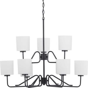 Tobin - Chandeliers Light - 9 Light in Modern style - 32 Inches wide by 18.63 Inches high