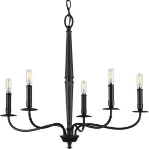 Durrell - Chandeliers Light - 5 Light in Coastal style - 26.5 Inches wide by 22.5 Inches high