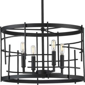 Torres - Chandeliers Light - 4 Light in Modern style - 18 Inches wide by 11.62 Inches high