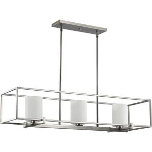 Chadwick - 8.75 Inch Height - Chandeliers Light - 3 Light - Cylinder Shade - Line Voltage