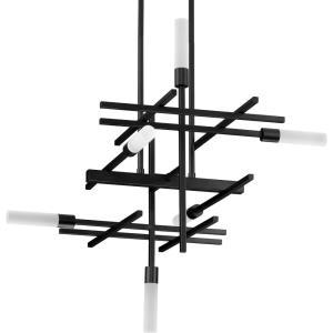 Quadrant - 26.13 Inch 144W 6 LED Chandelier