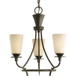 Three-Light Chandelier Fixture - Chandelier