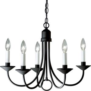 Five-Light Chandelier Fixture