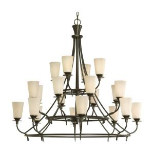 Twenty-Light, Three-Tier Chandelier Fixture - Chandelier