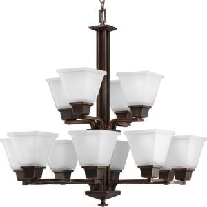 North Park - Twelve Light 2-Tier Chandelier