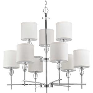 Status - Chandeliers Light - 9 Light in Coastal style - 32 Inches wide by 33.13 Inches high