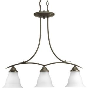 Trinity - Chandeliers Light - 3 Light in Transitional and Traditional style - 6.5 Inches wide by 28.25 Inches high