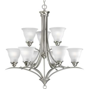 Trinity - Nine Light 2-Tier Chandelier