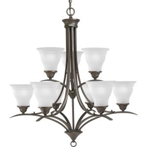 Trinity - Chandeliers Light - 9 Light in Transitional and Traditional style - 30 Inches wide by 33 Inches high