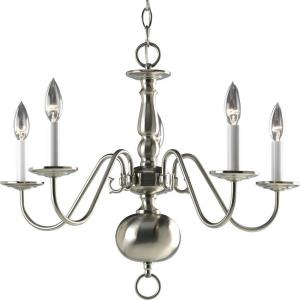Americana - Chandeliers Light - 5 Light in Traditional style - 24 Inches wide by 18 Inches high