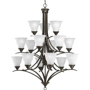 Trinity - Chandeliers Light - 15 Light in Transitional and Traditional style - 43.75 Inches wide by 43.63 Inches high